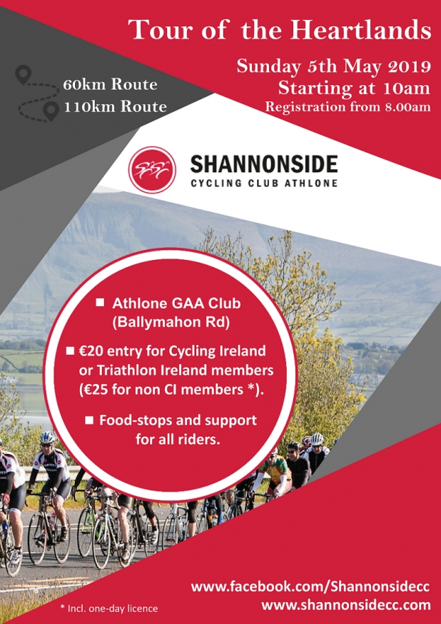 Shannonside CC Tour of the Heartlands 2019